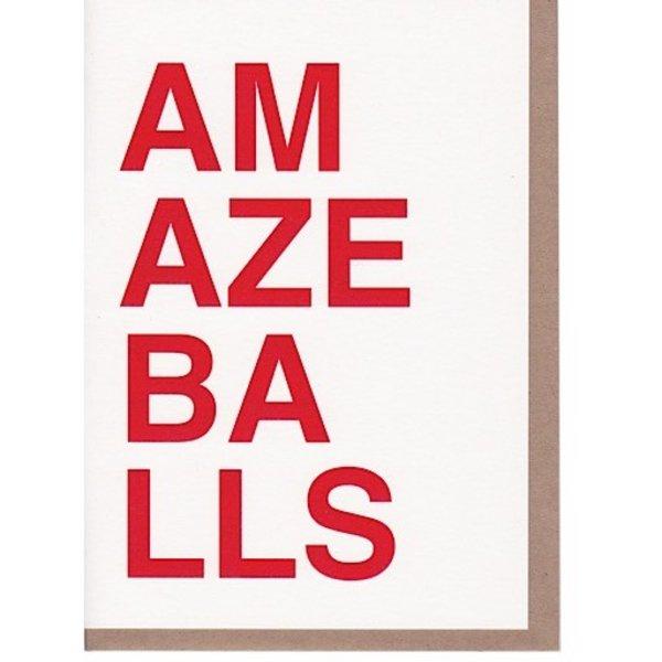 Sad Shop - Amazeballs Card