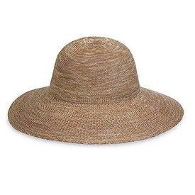 Victoria Diva Hat - Mixed Camel
