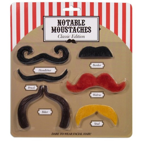 """Notable Moustaches """"Classic Edition"""""""