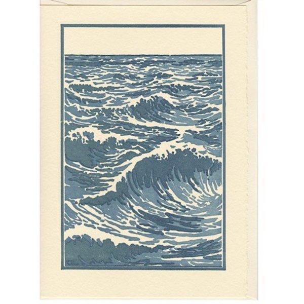 Saturn Press The Sea Card