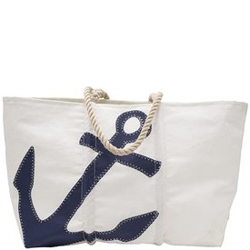 Sea Bags Navy Anchor Tote
