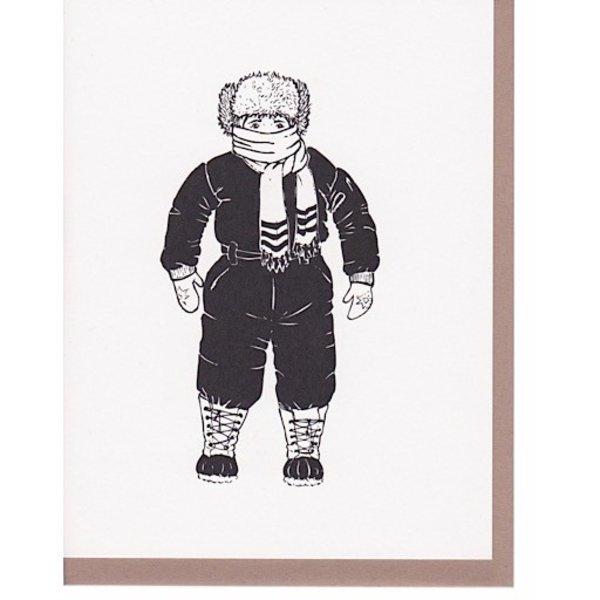 N'East Paper Card - Winter Kid