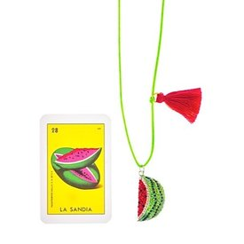 Little Lux Watermelon Love Necklace