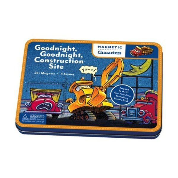Magnetic Figures - Goodnight, Goodnight Construction Site