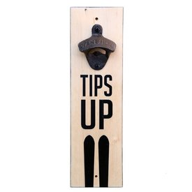 Bottle Opener - Tips Up