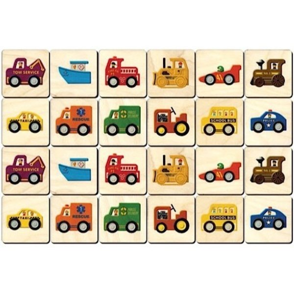 Memory Tiles - Vehicles