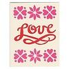 Morris & Essex Love Script Card