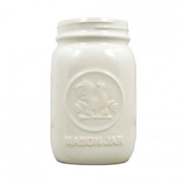 Mason Jar - White