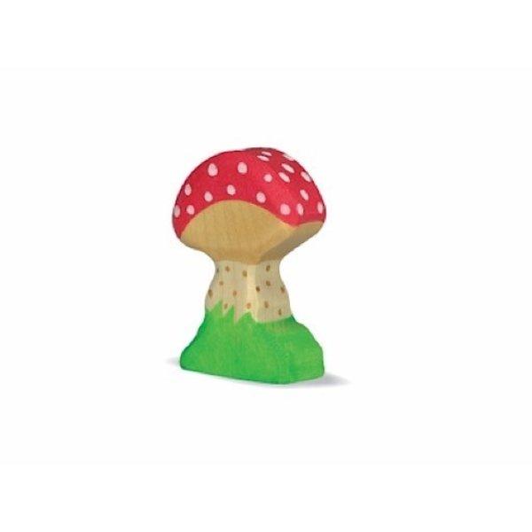 Holztiger Wooden Mushroom Toadstool