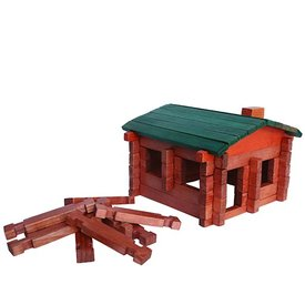 Daytrip Society Exclusive Maine Log Cabin Play Set