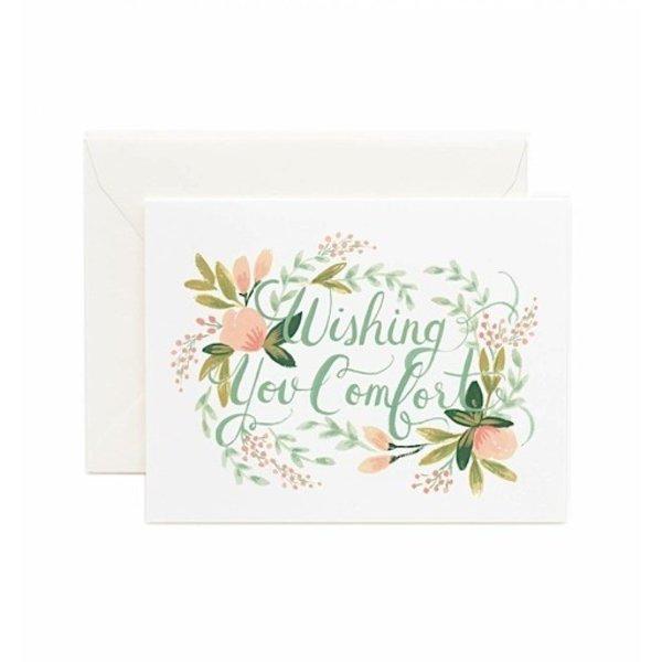 Rifle Paper Co. Card - Wishing You Comfort