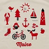 Pinecone + Chickadee Kids Organic Iconic Maine T-Shirt