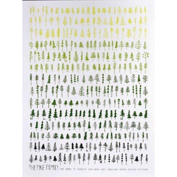 The Pine Family Print - 8x10