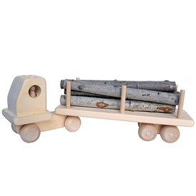 Wooden Large Log Truck