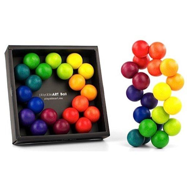Playable Art Ball - Rainbow