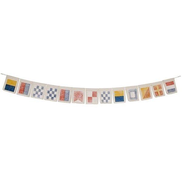 Addie Peet Flag Banner - Kennebunkport