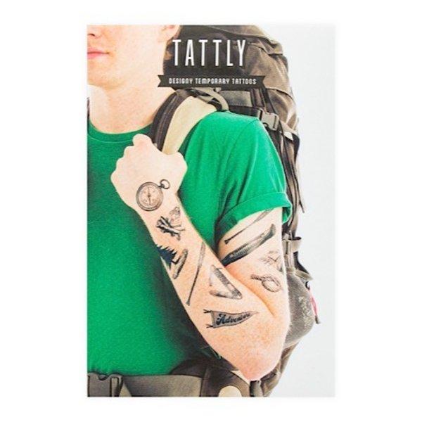 Tattly Tattoo Set - Camping