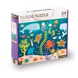 Petit Collage Floor Puzzle - Ocean Life