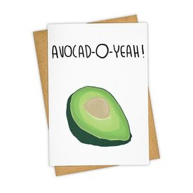 Tay Ham Avocad-O-Yeah Card