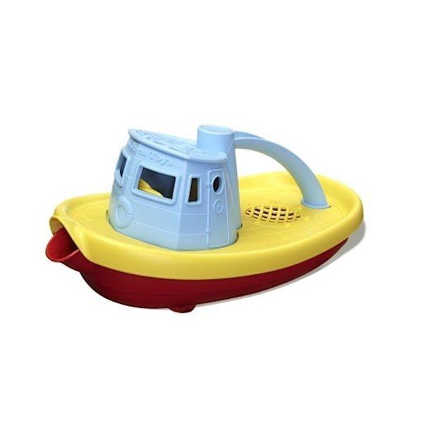 Green Toys Tugboat Blue
