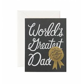 Rifle Paper Co. Card - World's Greatest Dad