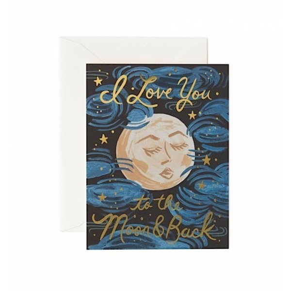 Rifle Paper Co. Card - To The Moon and Back