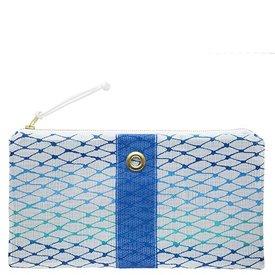 Alaina Marie Custom Bait Bag Clutch - Ombre Blue