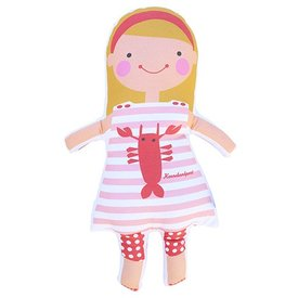 Sophie & Lili Kennebunkport Custom Doll Headband Blonde - Lobster Dress