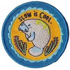 Quiet Tide Goods Patch - Slow Is Cool