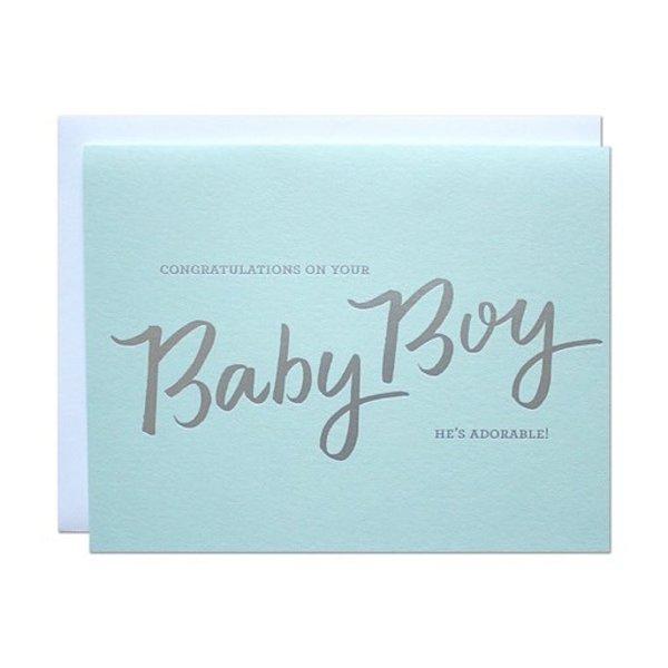 Parrott Design Card - Baby Boy