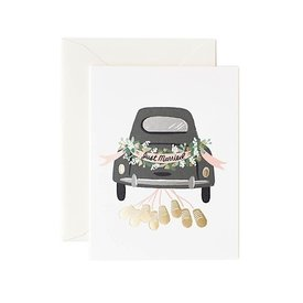 Rifle Paper Co. Card - Just Married Getaway