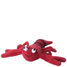 Knit Lobster Rattle - 7 inch