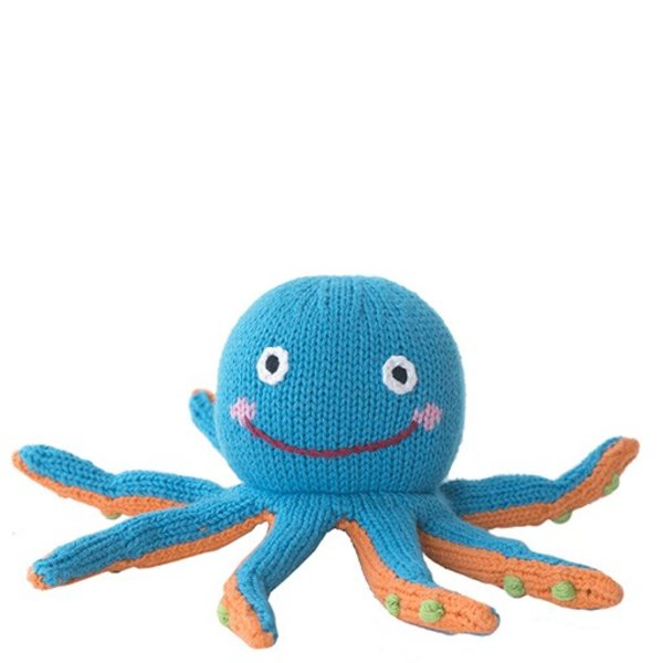 Knit Octopus - 6 inch
