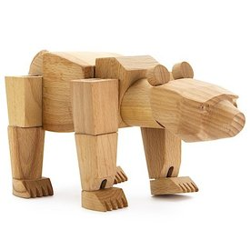 Ursa Minor Wooden Bear
