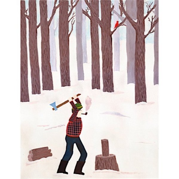 Small Adventure - Lumberjack Card