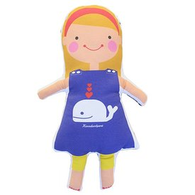 Sophie & Lili Kennebunkport Custom Doll Headband Blonde - Whale Dress