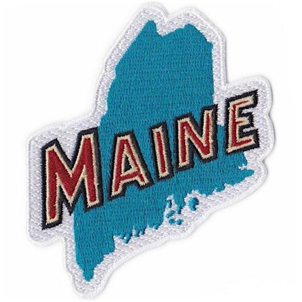 Daytrip Society Retro Maine Iron-On Patch