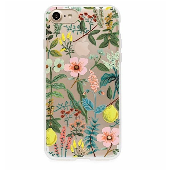 Rifle Paper Co. iPhone 6, 7 & 8 Clear Case - Herb Garden