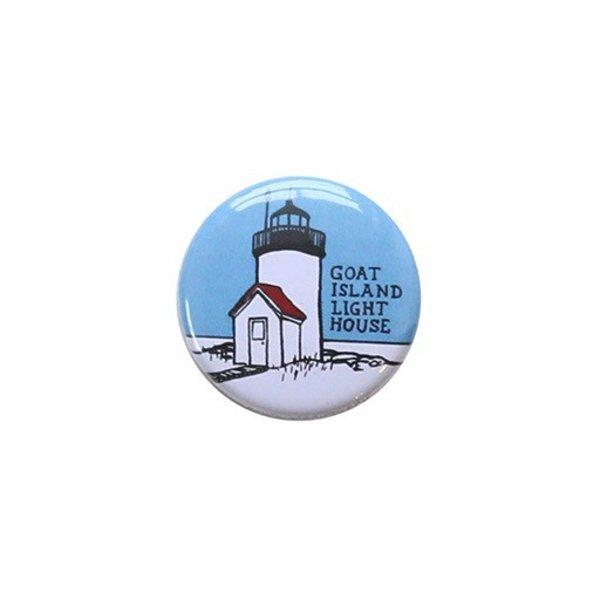 Daytrip Society Goat Island Button