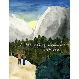Small Adventure - Sunrise Hike Card
