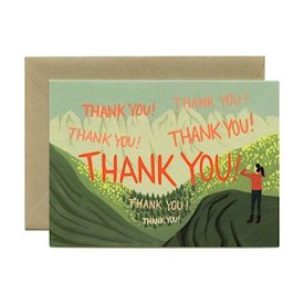 Yeppie Paper Echo Thank You Card