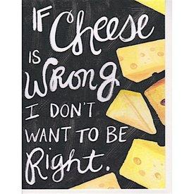 Hoopla Love Cheese Card