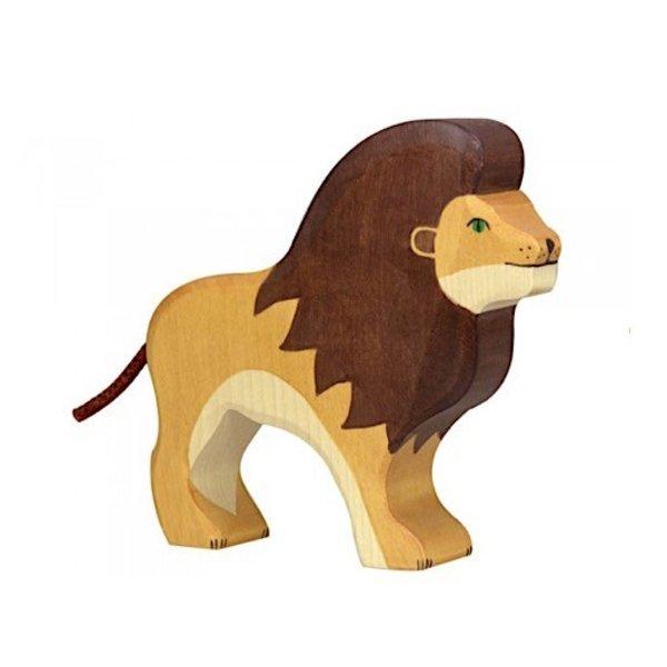 Holztiger Wooden Lion