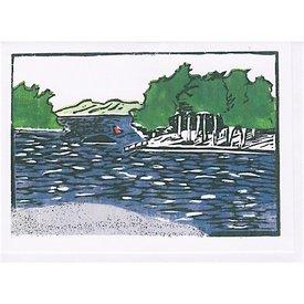 Susan Levine Goose Rocks Passage Card