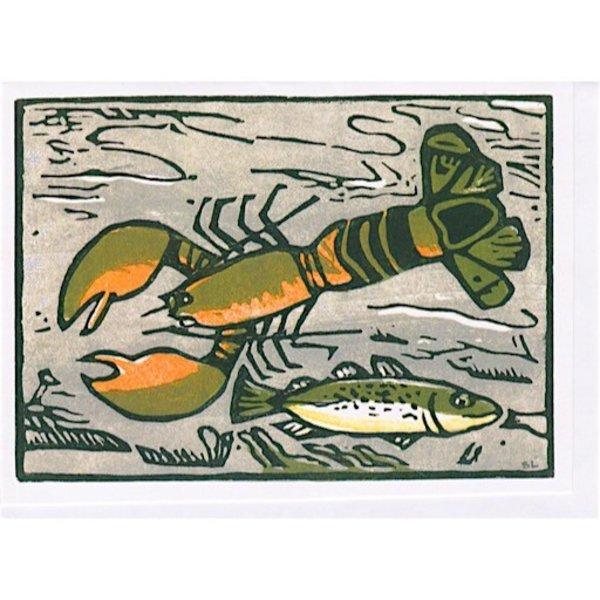 Susan Levine Lobster Card
