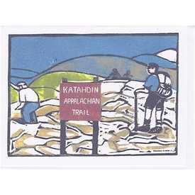 Susan Levine Katahdin 2 Card