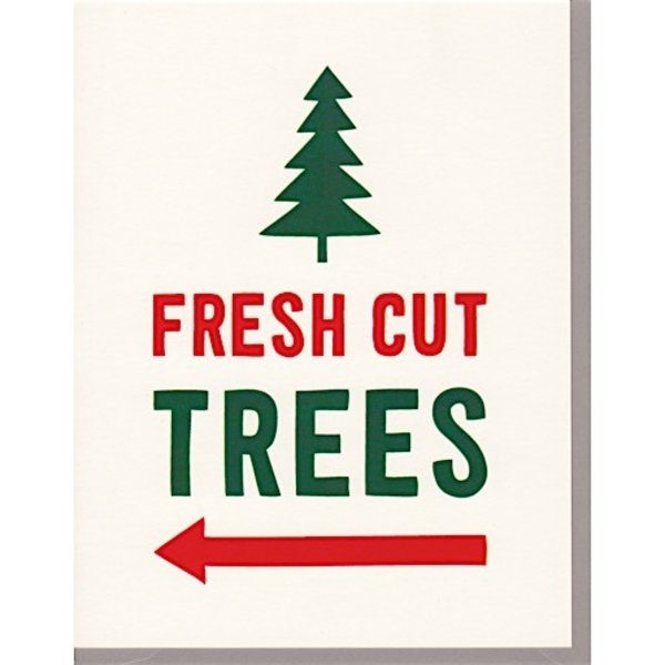 Scout's Honor Co. Card - Fresh Cut Trees