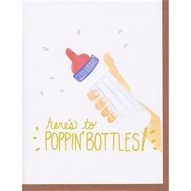 Fawn Paper Co. - Poppin' Bottles Card