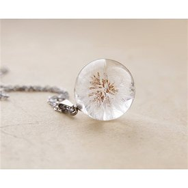 UralNature Dandelion Seeds Necklace - Small