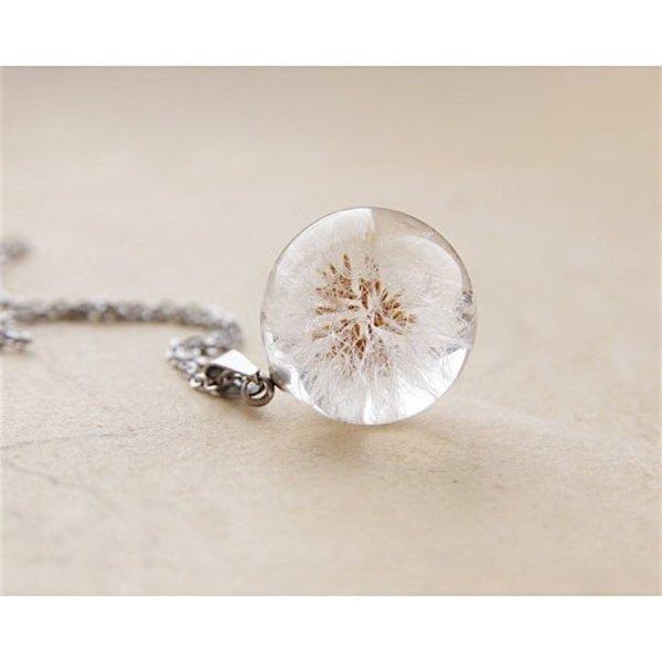 UralNature Dandelion Seeds Necklace - Small